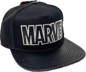 Bioworld - Marvel Comics Black Snapback Hat