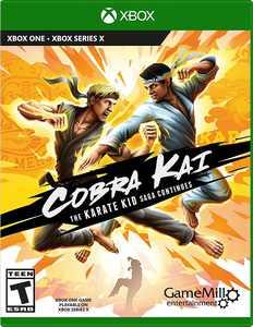 Cobra Kai The Karate Kid Saga Continues - Xbox One