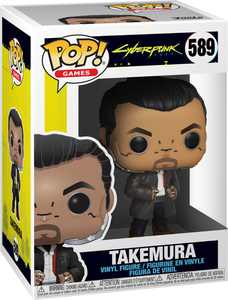 Funko - POP! Games: Cyberpunk 2077 - Takemura