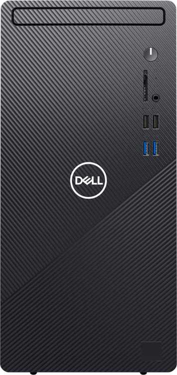 Dell - Inspiron 3880 Desktop - Intel Core i5-10400 - 12GB Memory - 256B SSD -Ethernet - WiFi - Bluetooth - keyboard + mouse - Black
