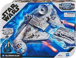 Star Wars Mission Fleet Han Solo Millennium Falcon