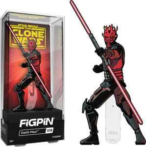 "CMD Collectibles - Star Wars: Clone Wars - Darth Maul 3"" Collector FigPin"
