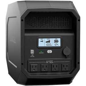 Duracell - PowerSource 1800 Peak Watt Gasless Generator and Portable Power Station - Black