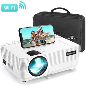 Vankyo - Leisure 470 Wireless Mini Projector - White
