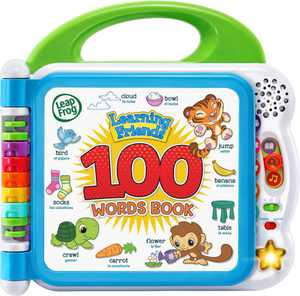 LeapFrog - Learning Friends 100 Words Book - Multi-color