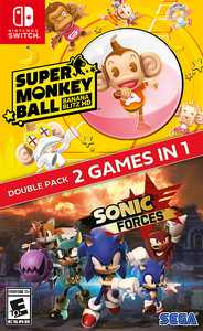 Sonic Forces + Super Monkey Ball: Banana Blitz HD - Nintendo Switch