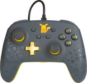 PowerA - Enhanced Wired Controller for Nintendo Switch - Pokémon: Pikachu Grey