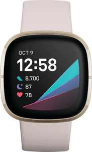 Fitbit - Sense Advanced Health & Fitness Smartwatch - Soft Gold