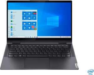 "Lenovo - Yoga 7i 2-in-1 14"" Touch Screen Laptop - Intel Evo Platform Core i7 - 12GB Memory - 512GB Solid State Drive - Slate Grey"