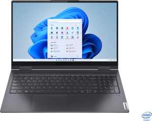 """Lenovo - Yoga 7i 2-in-1 15.6"""" Touch Screen Laptop - Intel Core i5 - 8GB Memory - 256GB Solid State Drive - Slate Grey"""
