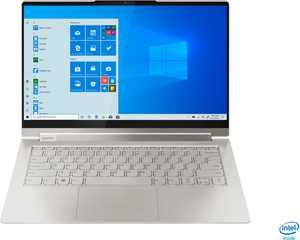 "Lenovo - Yoga 9i 14 2-in-1 14"" Touch-Screen Laptop - Intel Evo Platform Core i7 - 16GB Memory - 512GB SSD - Mica"