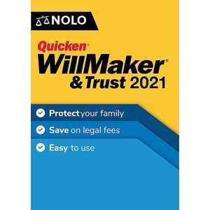 Individual Software - Quicken WillMaker & Trust 2021 - Mac, Windows