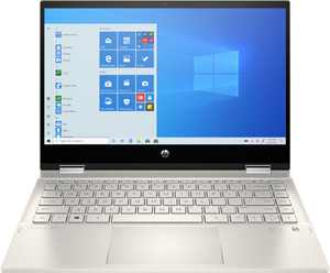 """HP - Pavilion x360 2-in-1 14"""" Touch-Screen Laptop - Intel Core i5 - 8GB Memory - 256GB SSD - Warm Gold"""