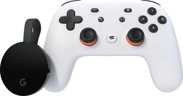 Google - Stadia Premiere Edition - Clearly White