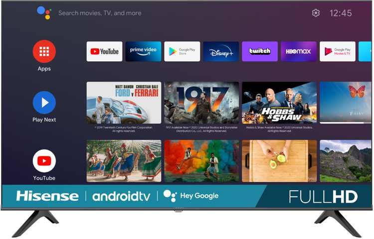 "Hisense - 43"" Class H5510G Series LED Full HD Smart Android TV"