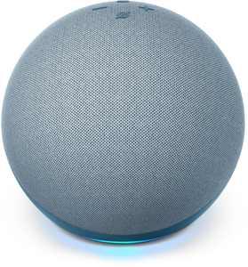 Amazon - Echo (4th Gen) With premium sound, smart home hub, and Alexa - Twilight Blue