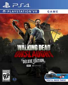 The Walking Dead Onslaught Deluxe Edition - PlayStation 4, PlayStation 5