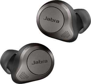 Elite 85t True wireless earbuds with Jabra Advanced ANC - Titanium Black