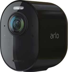 Arlo - Ultra 2 Spotlight Camera – Indoor/Outdoor 4K Wire-Free Security Camera with Color Night Vision (Add-On Camera) - Black