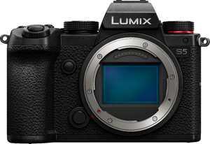 Panasonic LUMIX S5, 4K Mirrorless Full-Frame L-Mount Camera