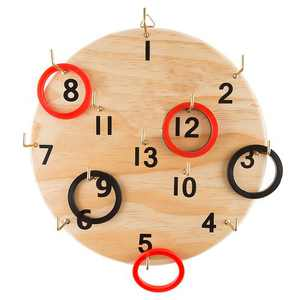 Toy Time - Ring Toss Game Set for Outdoor or Indoor Play, Safe Alternative to Darts for Adults and Kids by Toy Time!