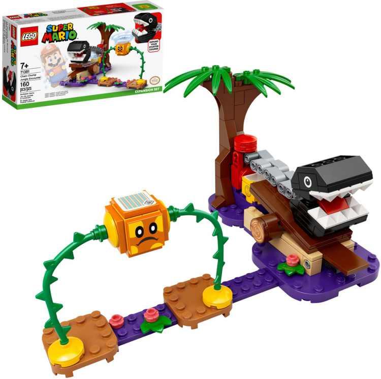 LEGO - Super Mario Chain Chomp Jungle Encounter Expand Set 71381