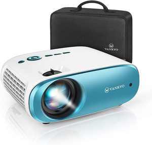 Vankyo - Cinemango 100 Mini 720P HD Projector - Blue