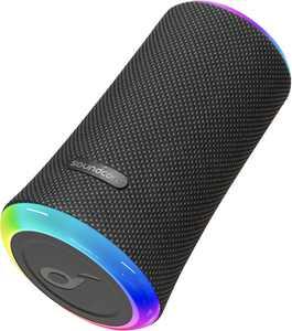 Soundcore - Flare 2 Portable Bluetooth Speaker - Black Blue