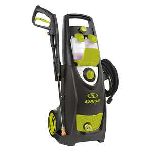 Sun Joe SPX3000-MAX Electric Pressure Washer | 2800-PSI MAX | 1.30 GPM | High Performance Brushless Induction Motor - Green & Black