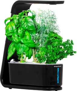 AeroGarden - Sprout - Easy Setup - Healthy cooking garden kit – 3 Gourmet Herb Pods included - Black