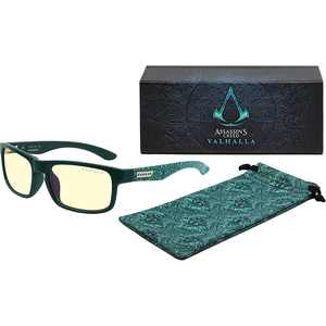 Gunnar - Assassin's Creed VALHALLA Edition Gaming Glasses - Teal Frames with Amber Lenses