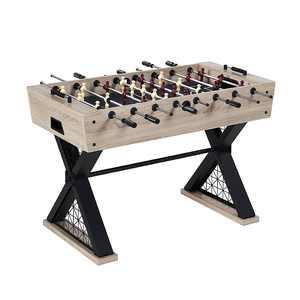 Barrington - Brooks 48 inch Foosball Table - Light Brown/Black