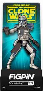 "CMD Collectibles - Star Wars: Clone Wars - Captain Rex 3"" Collector FigPin"