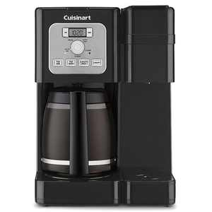 Cuisinart - Coffee Center Brew Basics Single Serve Coffee Maker - Black