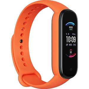 "Amazfit - Band 5 Fitness Tracker 1.1"" Polycarbonate - Orange"