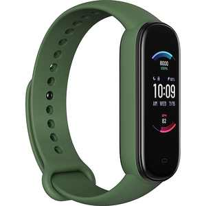 "Amazfit - Band 5 Fitness Tracker 1.1"" Polycarbonate - Olive"