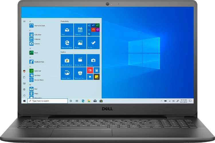 "Dell - Inspiron 15.6"" FHD  Touch Laptop -Intel Core i5-1035G1 - 8GB RAM - 256 GB SSD - Black"