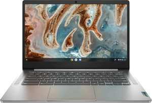 "Lenovo Chromebook 3 14"" Touch Laptop - Mediatek MT8183 - 4GB Memory - 64GB eMMC - Arctic Grey"