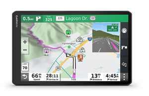 "Garmin RV 1090, 10"" RV Navigatior with Edge-to-Edge Display - Black"