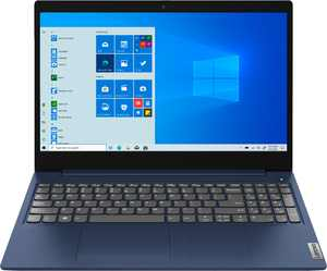 "Lenovo - Ideapad 3 15 15.6"" Touch-Screen Laptop - Intel Core i3 - 8GB Memory - 256GB SSD - Abyss Blue"
