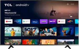 """TCL - 43"""" Class 4-Series LED 4K UHD HDR Smart Android TV"""