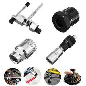 Lixada Bicycle Mountain Bike MTB Tool Kit Crank Extractor Chain Breaker Cassette Bottom Bracket Remover