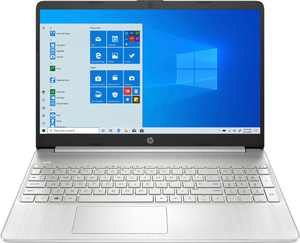 """HP - 15.6"""" Touch-Screen Laptop - AMD Ryzen 7 - 8GB Memory - 512GB SSD - Natural Silver"""