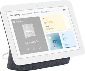 """Nest Hub 7"""" Smart Display with Google Assistant (2nd Gen) - Charcoal"""