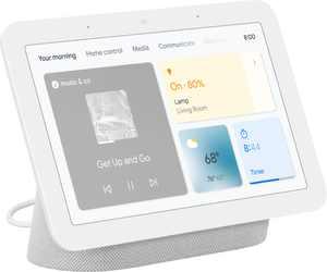 "Nest Hub 7"" Smart Display with Google Assistant (2nd Gen) - Chalk"