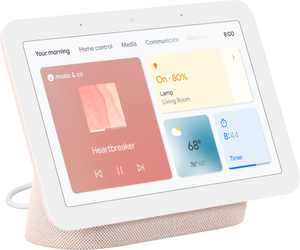"Nest Hub 7"" Smart Display with Google Assistant (2nd Gen) - Sand"