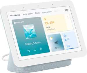 """Nest Hub 7"""" Smart Display with Google Assistant (2ndGen) - Mist"""