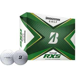Bridgestone Golf - Bridgestone 2020 Tour B RXS Golf Balls with REACTIV Cover, White, One Dozen - White