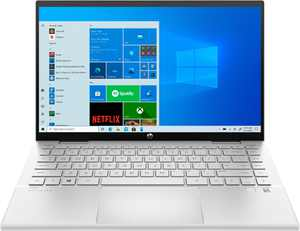"""HP - Pavilion 2-in-1 14"""" Touch-Screen Laptop - Intel Core i3 - 8GB Memory - 256GB SSD - Natural Silver"""