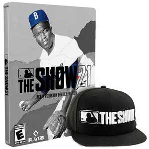 MLB The Show 21 Jackie Robinson Deluxe Edition - PlayStation 5, PlayStation 4